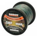 Pletená šňůra SELLIOR CarpBraid 0,28mm, 35kg, 2000m