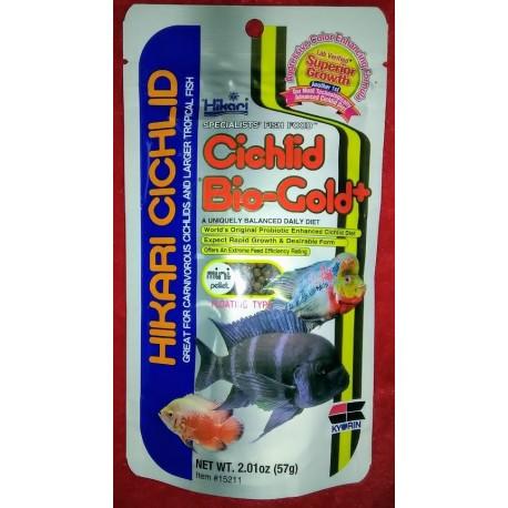 HIKARI Cichlid Bio-gold Plus Mini 57 g