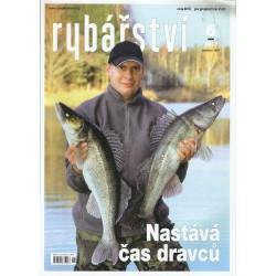 """Časopis """"Rybářství"""" - nekompletní ročník 2017"""