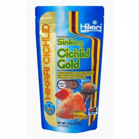 CICHLID GOLD SINKING MEDIUM 100g