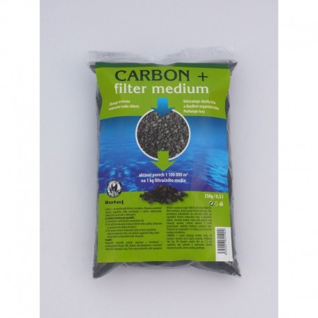 Carbon+ filter medium
